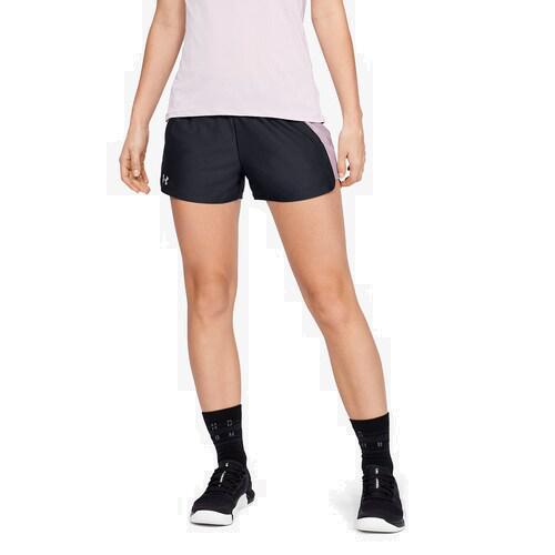 (取寄)アンダーアーマー レディース プレイ アップ ショーツ 2.0 Underarmour Women's Play Up Shorts 2.0 Black Pink Fog