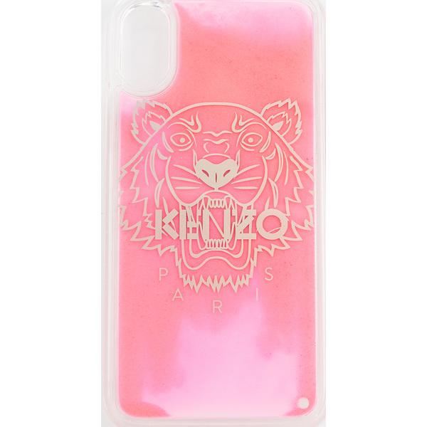 (取寄)ケンゾー タイガー ヘッド アイフォン x / XS ケース KENZO Tiger Head iPhone X / XS Case Strawberry