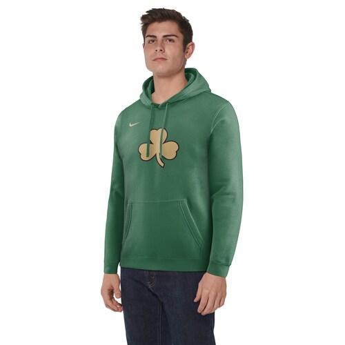 (取寄)ナイキ メンズ パーカー NBA シティ エディション フーディ ボストン セルティクス Nike Men's NBA City Edition Hoodie ボストン セルティクス Clover