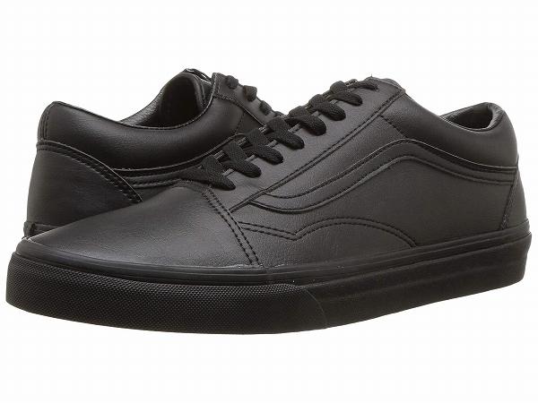 (取寄)Vans(バンズ) スニーカー オールド スクール メンズ Vans Men's Old Skool (Classic Tumble) Black Mono