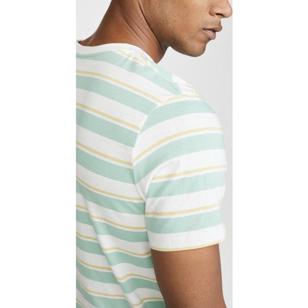 【エントリーでポイント10倍】(取寄)アーペーセー Yves ストライプド Tシャツ A.P.C. Yves Striped T-Shirt SaaMulticolore