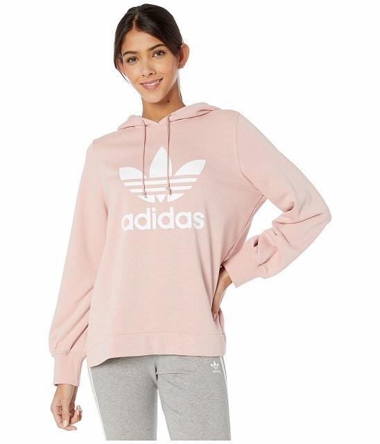 (取寄)アディダス オリジナルス レディース オリジナル  パーカー adidas originals Women Originals Hoodie Pink Spirit