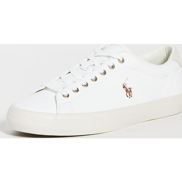(取寄)ポロ ラルフローレン ロングウッド スニーカー Polo Ralph Lauren Longwood Sneakers White