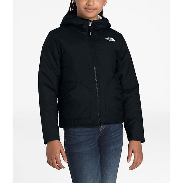 (取寄)ノースフェイス ガールズ リバーシブル ペリート ジャケット The North Face Girls' Reversible Perrito Jacket TNF Black