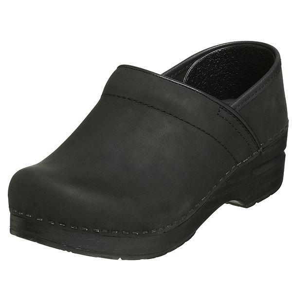 (取寄)ダンスコ プロフェッショナル レディース オイルド レザー クロッグ ブラック dansko Professional Oiled Leather Clog Black 【サボ サンダル コンフォートシューズ 大きいサイズ 靴】 【コンビニ受取対応商品】