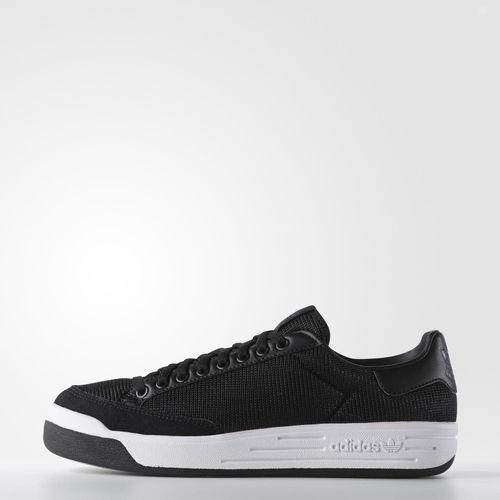 阿迪达斯原件男子罗德运动鞋黑色阿迪达斯男杆紫菜鞋支持