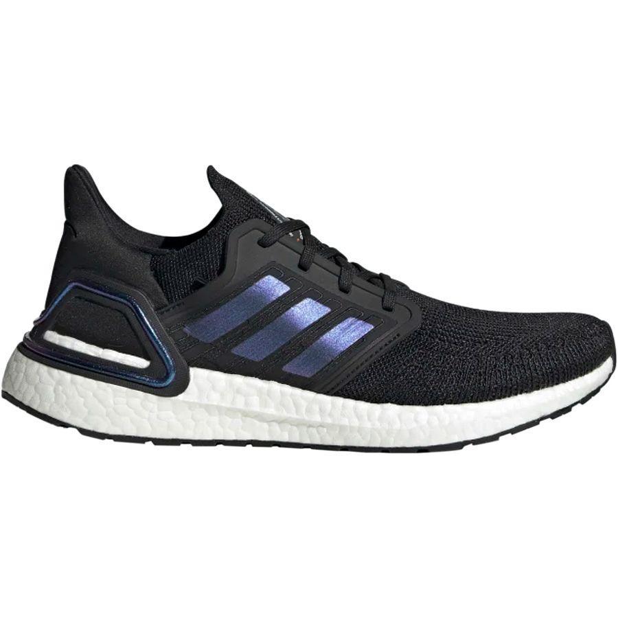 【マラソン ポイント10倍】(取寄)アディダス メンズ ウルトラブースト 20 シューズ Adidas Men's UltraBOOST 20 Shoe Core Black/Boost Blue Violet Metallic/White