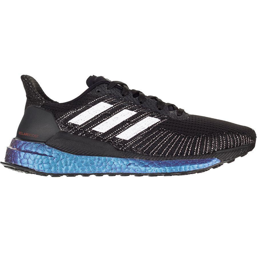 (取寄)アディダス レディース ソーラー ブースト ランニングシューズ Adidas Women Solar Boost Running Shoe Core Black/Purple Tint/Solar Red