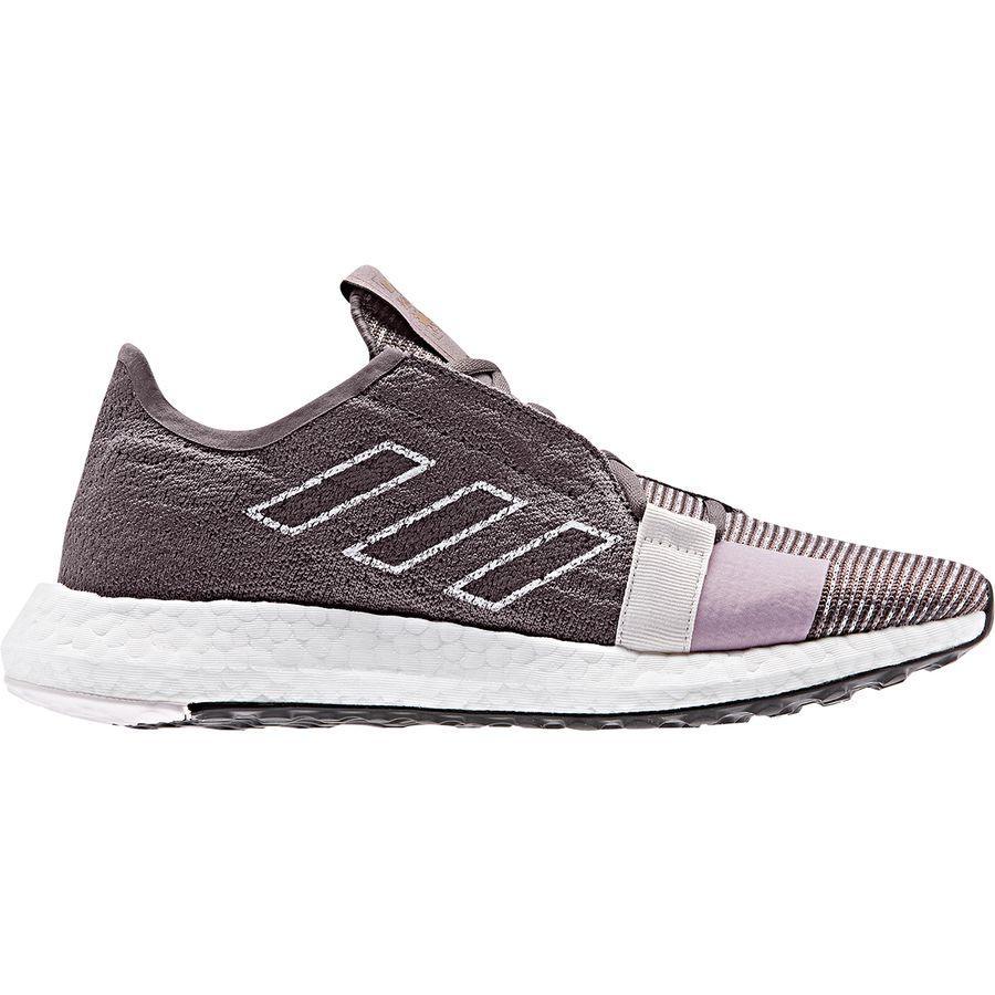 (取寄)アディダス レディース センスブースト ゴー ランニングシューズ Adidas Women SenseBoost Go Running Shoe Vis-Shadow/Soft-vis/Orcid Tin