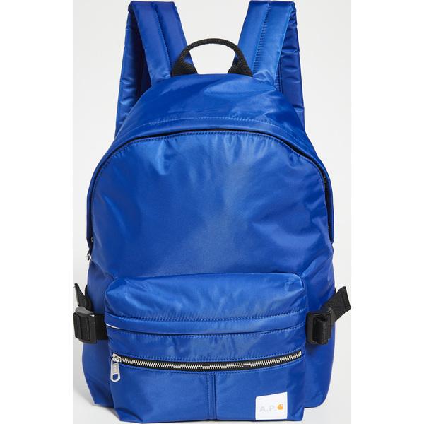 (取寄)アーペーセー アーペーセー x カーハート WIP バックパック A.P.C. A.P.C. x Carhartt WIP Backpack Indigo