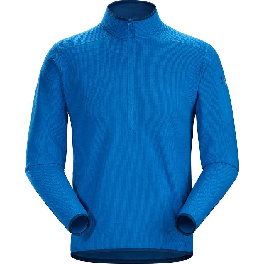 【クーポンで最大2000円OFF】(取寄)アークテリクス メンズ デルタ LT Zip-Neck フリース プルオーバー Arc'teryx Men's Delta LT Zip-Neck Fleece Pullover Shimizu