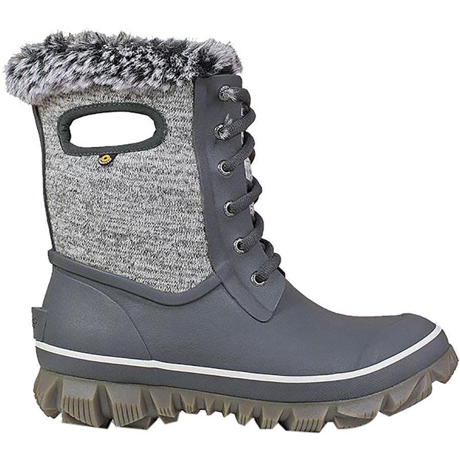(取寄)ボグス レディース アーケータ ニット ブーツ Bogs Women Arcata Knit Boot Gray Multi