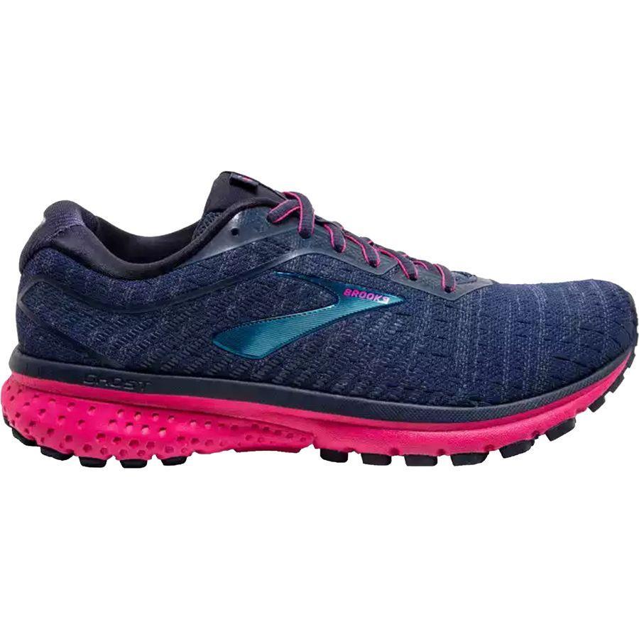 【クーポンで最大2000円OFF】(取寄)ブルックス レディース ゴースト 12 ランニングシューズ Brooks Women Ghost 12 Running Shoe Navy/Majolica/Beetroot