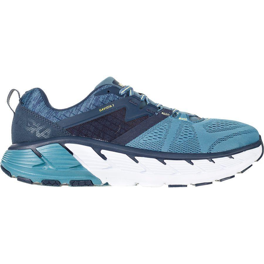 【クーポンで最大2000円OFF】(取寄)ホカ オネ オネ メンズ ガヴィオータ 2 ワイド ランニングシューズ HOKA ONE ONE Men's Gaviota 2 Wide Running Shoe Moonlit Ocean/Black Iris