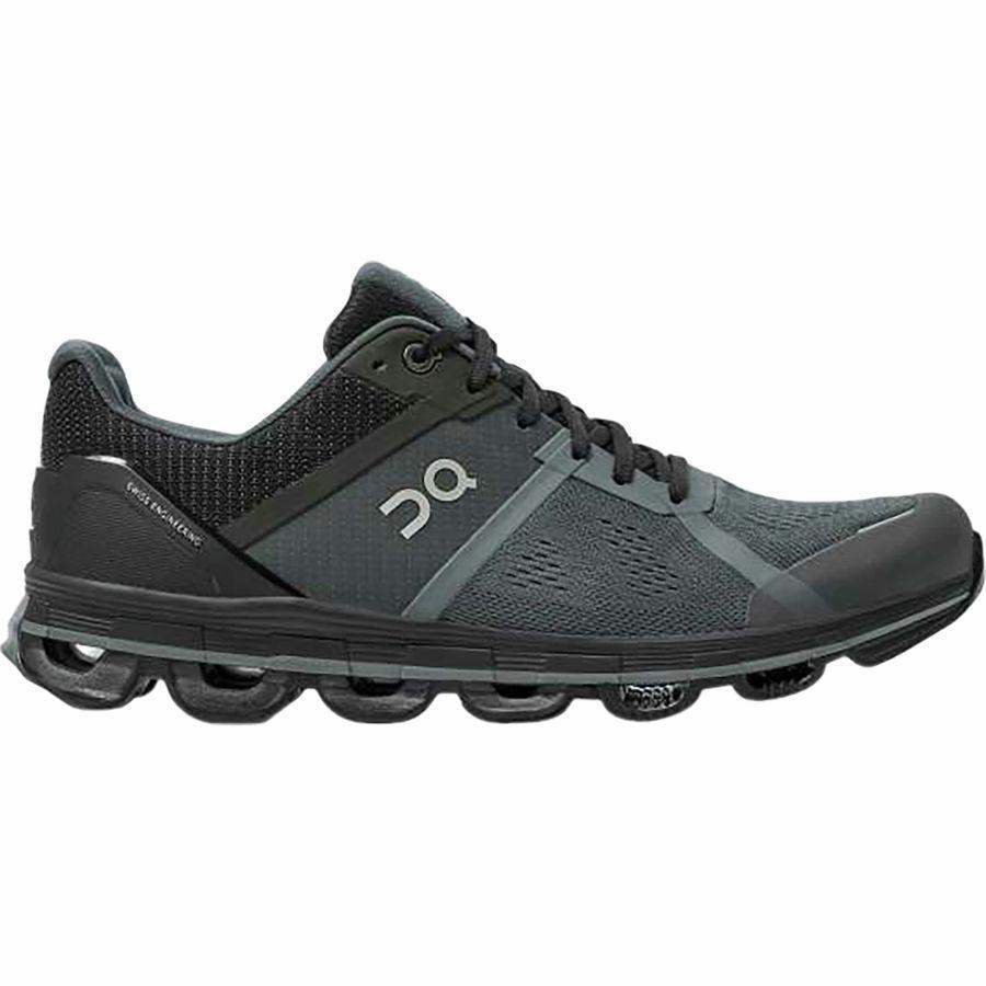 【マラソン ポイント10倍】(取寄)オンランニング レディース クラウドエース ランニングシューズ ON Running Women Cloudace Running Shoe Graphite/Rock