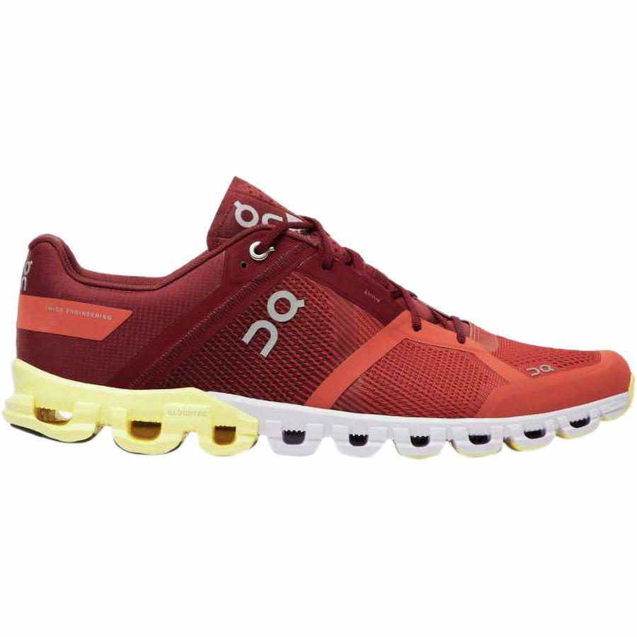 (取寄)オンランニング メンズ クラウドフロー ランニングシューズ ON Running Men's Cloudflow Running Shoe Rust/Limelight