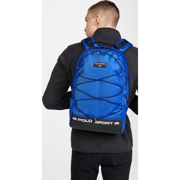 (取寄)ポロ ラルフローレン ポロ スポーツ バックパック Polo Ralph Lauren Polo Sport Backpack Blue