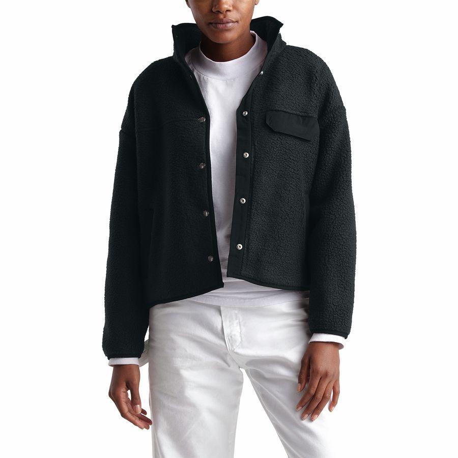 (取寄)ノースフェイス レディース クラグモント フリース ジャケット The North Face Women Cragmont Fleece Jacket Tnf Black