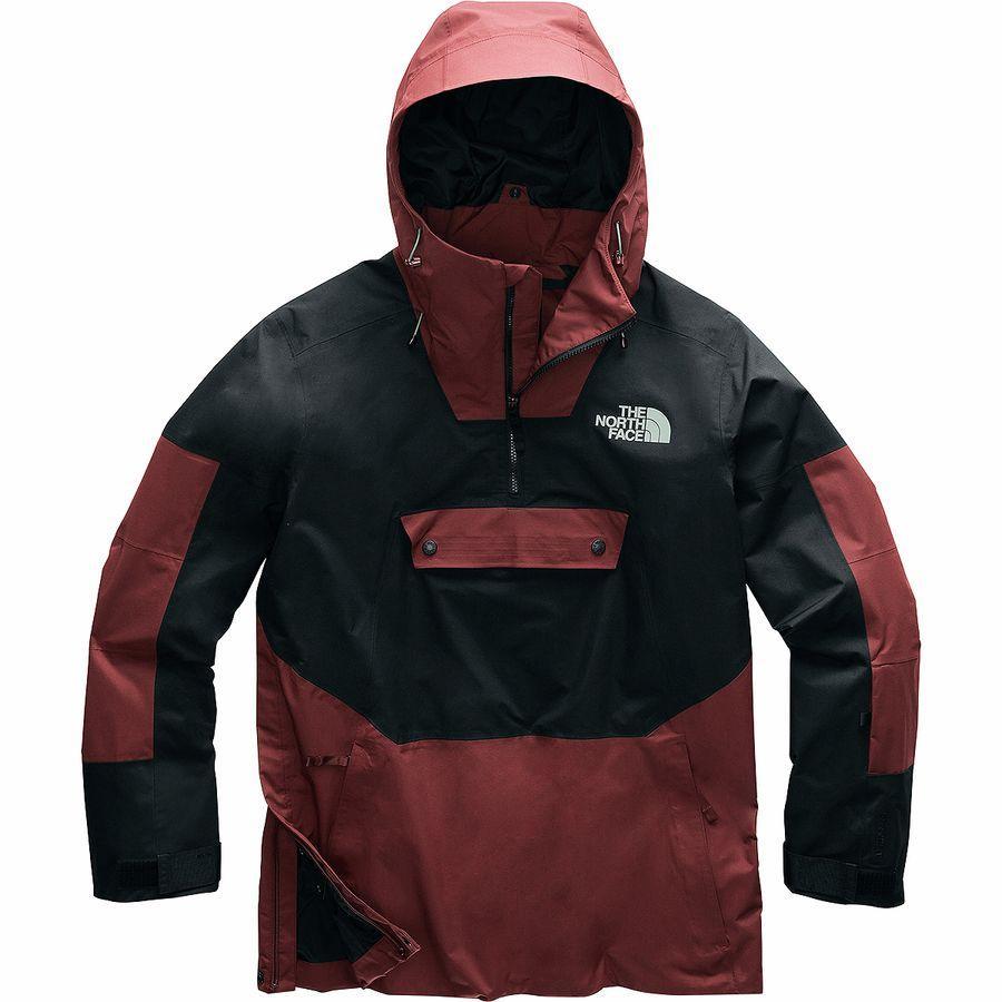 (取寄)ノースフェイス メンズ Silvani ジャケット アノラック The North Face Men's Silvani Jacket Anorak Sequoia Red/Tnf Black