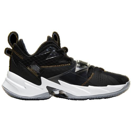 【クーポンで最大2000円OFF】(取寄)ジョーダン メンズ ワイ ノット ゼロ 3 Jordan Men's Why Not Zer0.3 Black Metallic Gold White