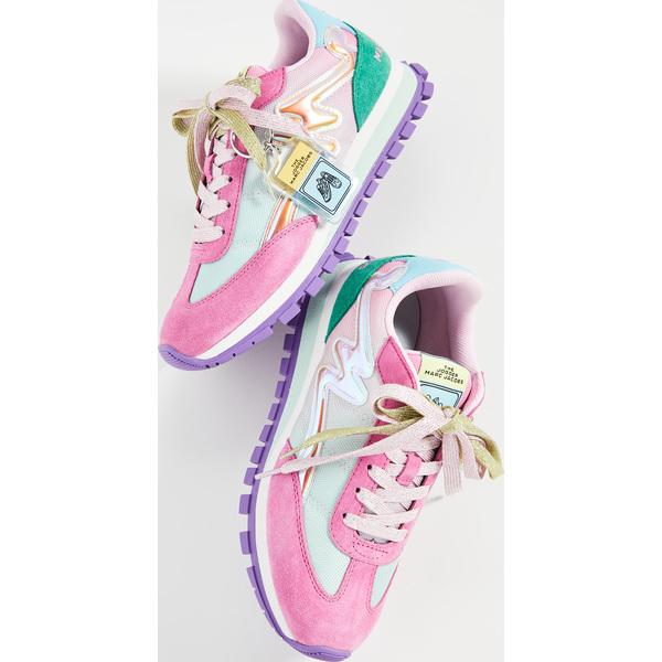 (取寄)マークジェイコブス レディース ザ ジョガー スニーカー Marc Jacobs Women's Women's The Jogger Sneakers PinkMulti