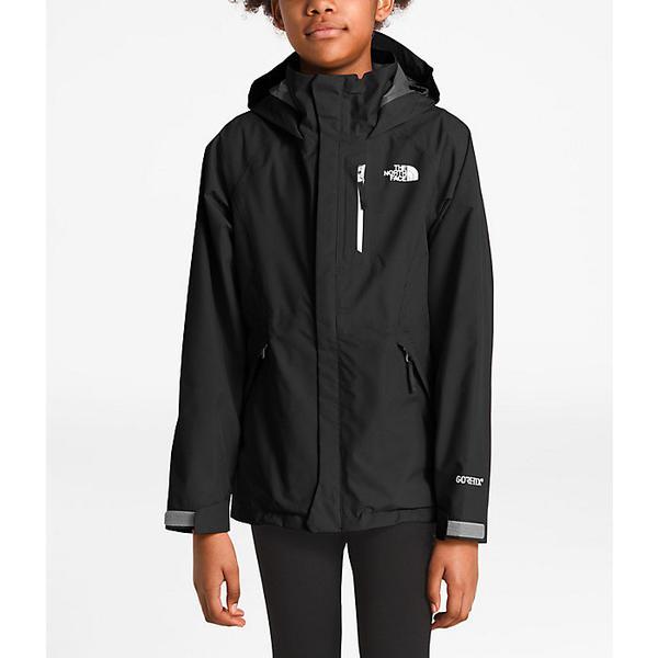 (取寄)ノースフェイス ガールズ ドリズル ジャケット The North Face Girls' Dryzzle Jacket TNF Black