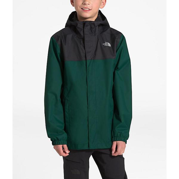 【クーポンで最大2000円OFF】(取寄)ノースフェイス ボーイズ リゾルブ リフレクティブ ジャケット The North Face Boys' Resolve Reflective Jacket Night Green