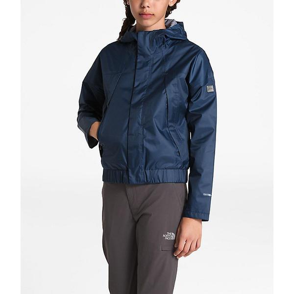 (取寄)ノースフェイス ガールズ プレスタ レイン ジャケット The North Face Girls' Precita Rain Jacket Blue Wing Teal