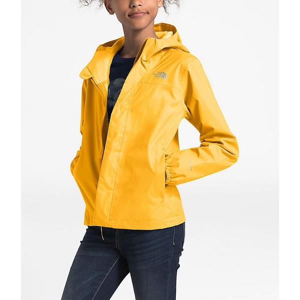 【クーポンで最大2000円OFF】(取寄)ノースフェイス ガールズ リゾルブ リフレクティブ ジャケット The North Face Girls' Resolve Reflective Jacket TNF Yellow