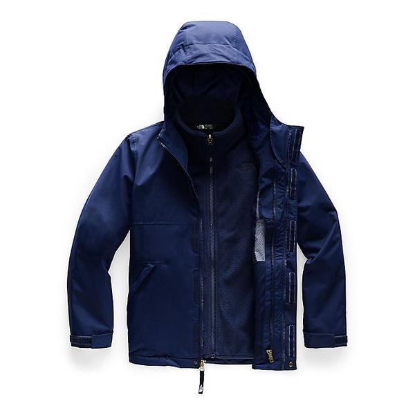 (取寄)ノースフェイス ガールズ マウント ビュー トリクライメイト ジャケット The North Face Girls' Mt. View Triclimate Jacket Montague Blue