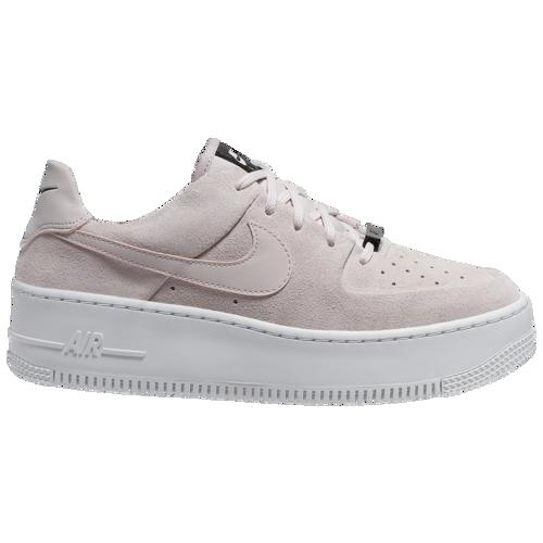 (取寄)ナイキ レディース エア フォース 1 セージ ロー Nike Women's Air Force 1 Sage Low Barely Rose Barely Rose White
