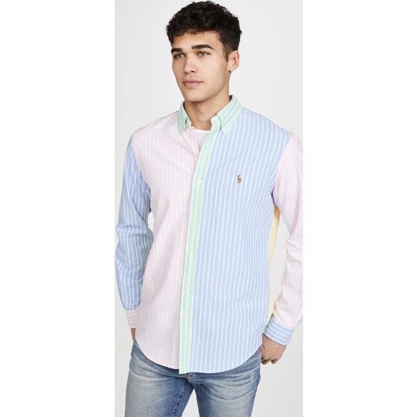 (取寄)ポロ ラルフローレン クラシック オックスフォード Polo Ralph Lauren Classic Oxford StripeFunShirt