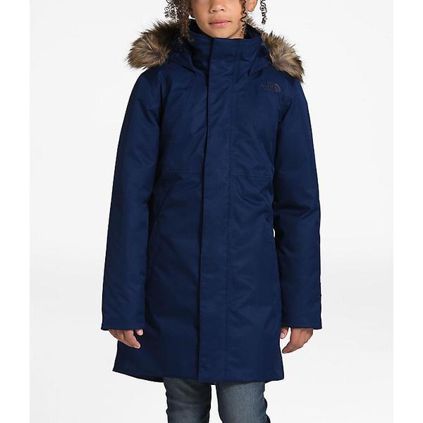 【エントリーでポイント10倍】(取寄)ノースフェイス ガールズ アークティック スワール ダウン ジャケット The North Face Girls' Arctic Swirl Down Jacket Montague Blue