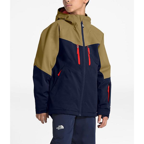 (取寄)ノースフェイス キッズ チャカル インスレート ジャケット The North Face Kid's Chakal Insulated Jacket Montague Blue