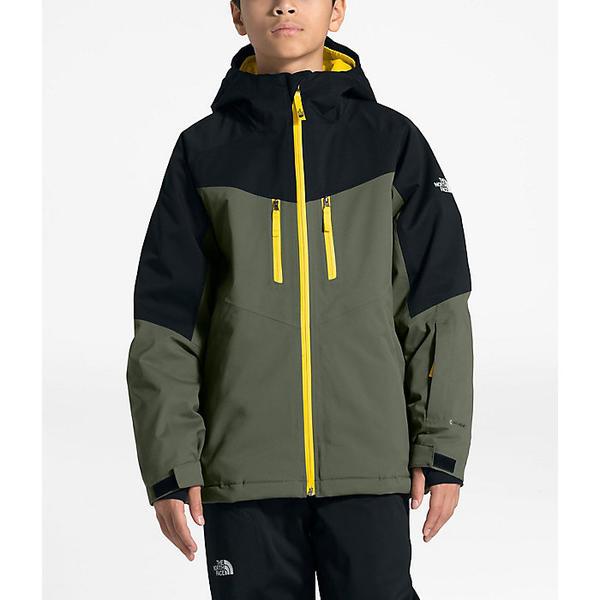 【エントリーでポイント10倍】(取寄)ノースフェイス キッズ チャカル インスレート ジャケット The North Face Kid's Chakal Insulated Jacket New Taupe Green