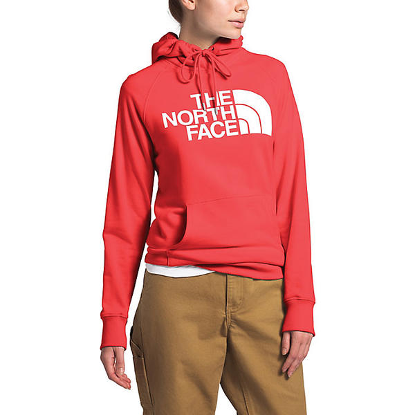 (取寄)ノースフェイス レディース ハーフ ドーム プルオーバー フーディ The North Face Women's Half Dome Pullover Hoodie Cayenne Red