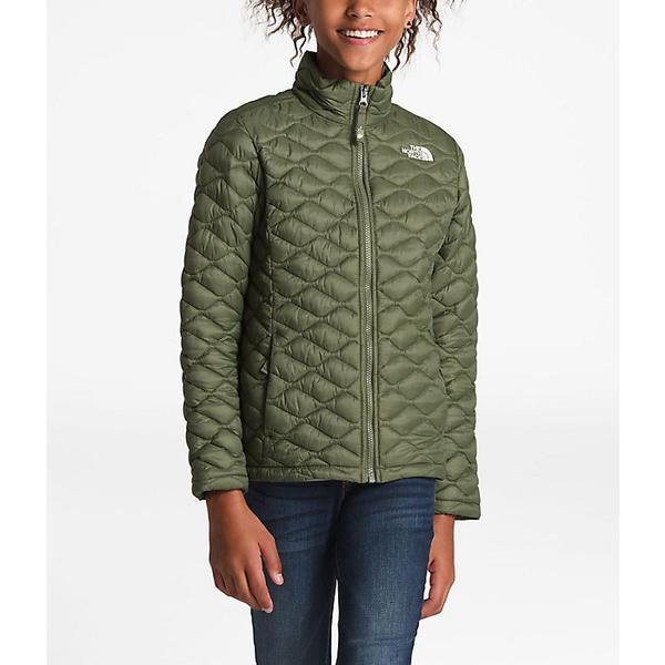 (取寄)ノースフェイス キッズ サーモボール フル ジップ ジャケット The North Face Kid's ThermoBall Full Zip Jacket Four Leaf Clover