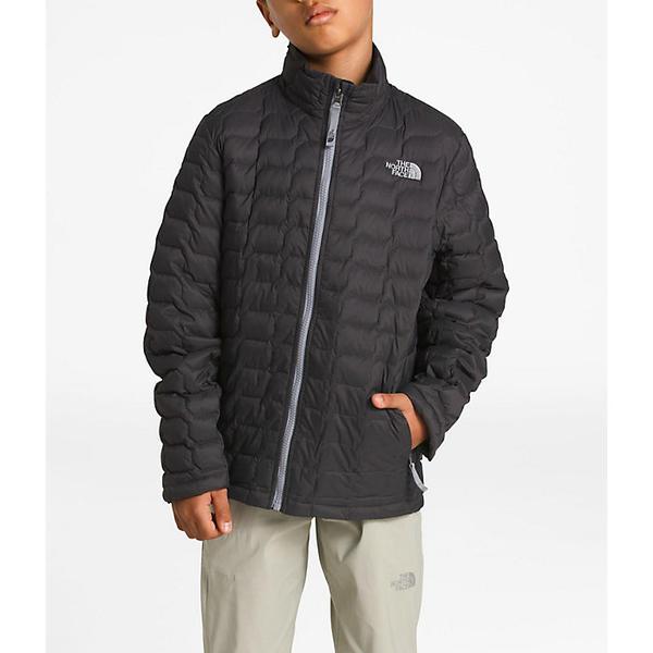 (取寄)ノースフェイス キッズ サーモボール フル ジップ ジャケット The North Face Kid's Thermoball Full Zip Jacket Graphite Grey