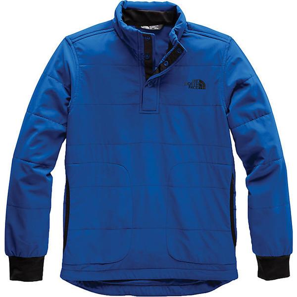 (取寄)ノースフェイス ボーイズ マウンテン 1/4 スナップ ネック スウェットシャツ The North Face Boys' Mountain 1/4 Snap Neck Sweatshirt Turkish Sea