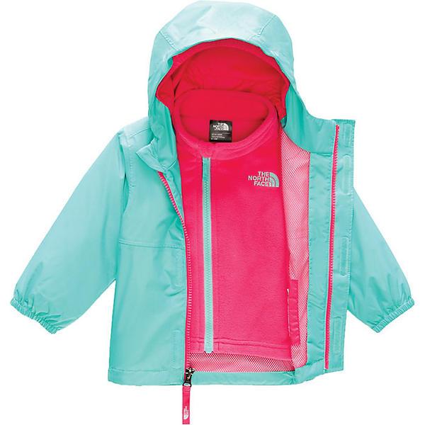 (取寄)ノースフェイス インファント ストーミー レイン トリクライメイト ジャケット The North Face Infant Stormy Rain Triclimate Jacket Mint Blue