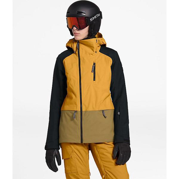 【マラソン ポイント10倍】(取寄)ノースフェイス レディース スーパーエルユー ジャケット The North Face Women's Superlu Jacket Golden Spice / TNF Black / British Khaki