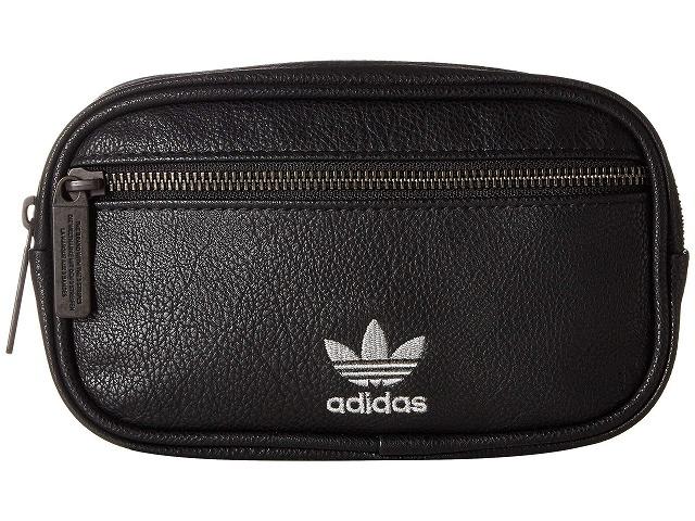 (取寄)アディダス オリジナルス ユニセックス オリジナル PU ウエスト パック adidas originals Unisex Originals PU Waist Pack Black/Silver