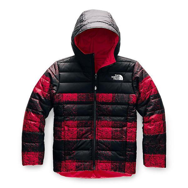 【クーポンで最大2000円OFF】(取寄)ノースフェイス ボーイズ リバーシブル ペリート ジャケット The North Face Boys' Reversible Perrito Jacket TNF Red Buff Check Print