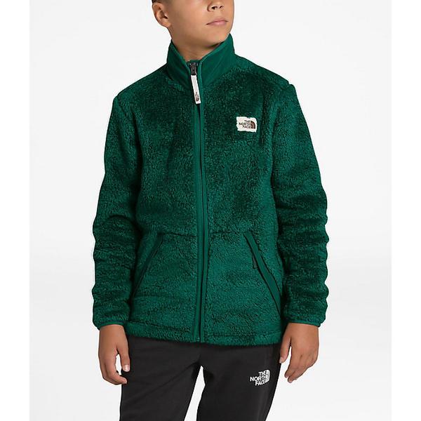 (取寄)ノースフェイス ボーイズ キャンプシェア フル ジップ ジャケット The North Face Boys' Campshire Full Zip Jacket Night Green