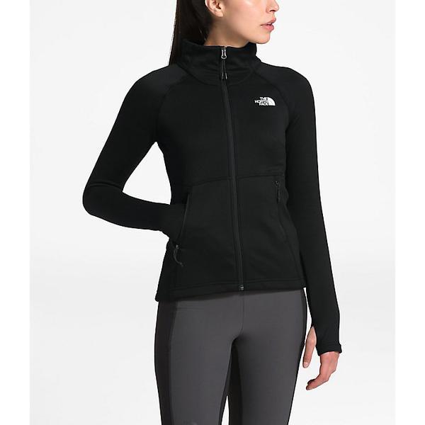 【クーポンで最大2000円OFF】(取寄)ノースフェイス レディース キャニオンランズ フル ジップ ジャケット The North Face Women's Canyonlands Full Zip Jacket TNF Black