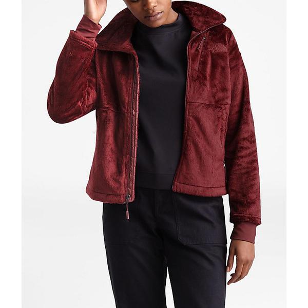 (取寄)ノースフェイス レディース オシト フロー ジャケット The North Face Women's Osito Flow Jacket Deep Garnet Red