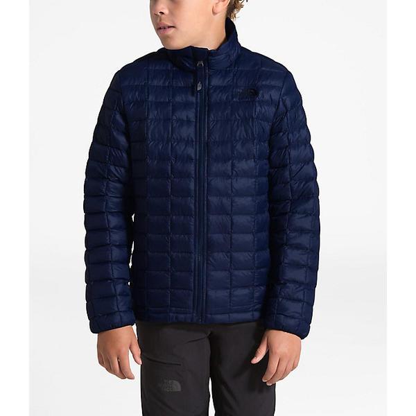 (取寄)ノースフェイス ボーイズ サーモボール エコ ジャケット The North Face Boys' ThermoBall Eco Jacket Montague Blue