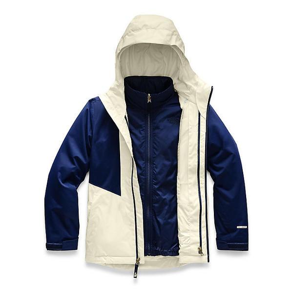 【クーポンで最大2000円OFF】(取寄)ノースフェイス ガールズ クレメンタイン トリクライメイト ジャケット The North Face Girls' Clementine Triclimate Jacket Montague Blue