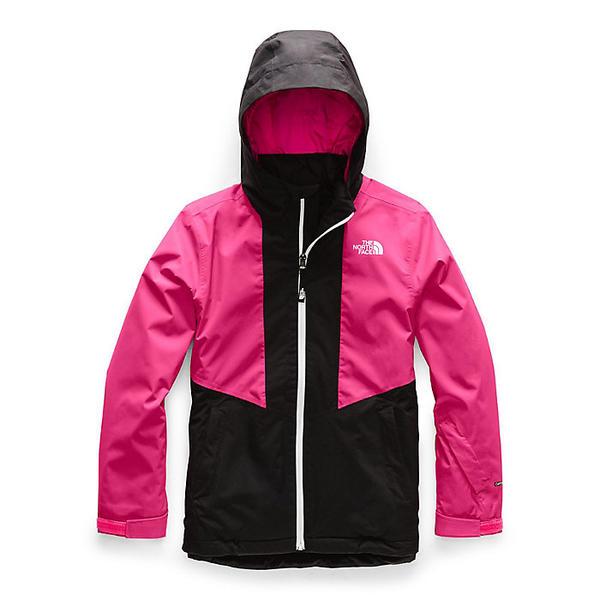 (取寄)ノースフェイス ガールズ クレメンタイン トリクライメイト ジャケット The North Face Girls' Clementine Triclimate Jacket Mr. Pink