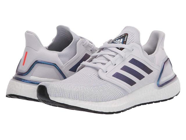 【マラソン ポイント10倍】(取寄)アディダス メンズ ウルトラブースト 20 ランニングシューズ adidas Men's Running Ultraboost 20 Dash Grey/Boost Blue Violet Metallic/Core Black